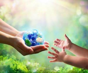 gib Deinem Kind die Hand
